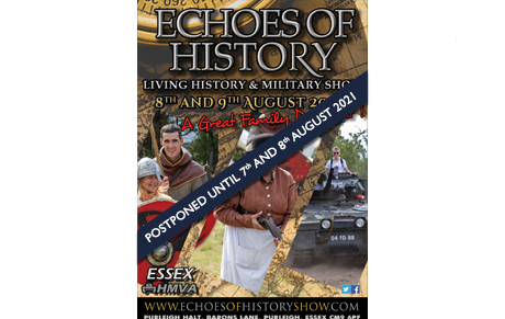 Echoes of History show poster for 2020 in small size